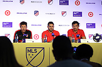 Orlando, Florida - Monday July 29, 2019: Atletico de Madrid during the MLS All-Star Game Press Conference at Exploria Stadium.