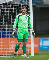 Goalkeeper Mark Smith of Aldershot Town during the pre season friendly match between Aldershot Town and Wycombe Wanderers at the EBB Stadium, Aldershot, England on 22 July 2017. Photo by Andy Rowland.