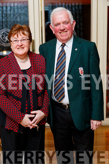 Catherine and Johnny Brosnan (East Kerry Board), enjoying the Cordal GAA social at Ballygarry House Hotel and Spa, Tralee, on Saturday night last