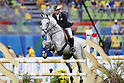 Tomoya Miguchi (JPN), <br /> AUGUST 20, 2016 - Modern Pentathlon : <br /> Men's Riding at Deodoro Stadium<br /> during the Rio 2016 Olympic Games in Rio de Janeiro, Brazil. <br /> (Photo by Yusuke Nkanishi/AFLO SPORT)