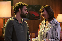 Tag (2018)  <br /> JAKE JOHNSON as Randy &quot;Chilli&quot; Cilliano and NORA DUNN as Linda Malloy <br /> *Filmstill - Editorial Use Only*<br /> CAP/MFS<br /> Image supplied by Capital Pictures