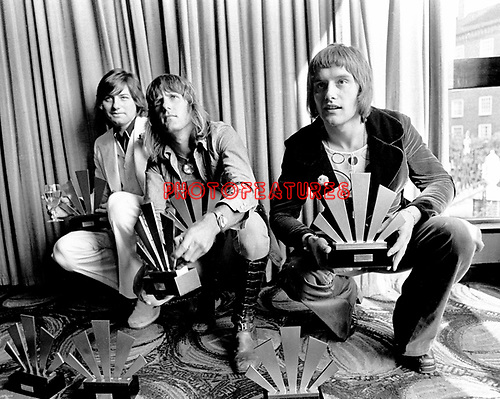 Emerson Lake &amp; Palmer 1972 ELP Greg lake. Keith Emerson and Carl Palmer<br />&copy; Chris Walter