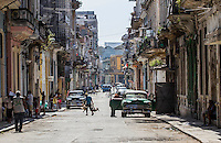 HAVANA, CUBA, 20.07.2015 –  Vista do bairro Habana Vieja na cidade de Havana em Cuba. (Foto: Paulo Lisboa/Brazil Photo Press)