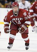Luke Greiner (Harvard - 24) - The Boston College Eagles defeated the Harvard University Crimson 6-0 on Monday, February 1, 2010, in the first round of the 2010 Beanpot at the TD Garden in Boston, Massachusetts.