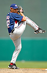 9 March 2007: Washington Nationals pitcher Matt Chico on the mound against the Baltimore Orioles at Fort Lauderdale Stadium in Fort Lauderdale, Florida. <br /> <br /> Mandatory Photo Credit: Ed Wolfstein Photo
