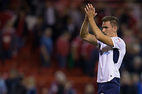 Jed Wallace of Millwall during the Sky Bet Championship match between Nottingham Forest and Millwall at the City Ground, Nottingham, England on 4 August 2017. Photo by James Williamson / PRiME Media Images.