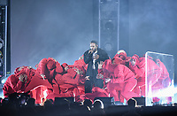 NEW YORK - JANUARY 28: Kendrick Lamar appears on the 60th Annual Grammy Awards at Madison Square Garden on January 28, 2018 in New York City. (Photo by Frank Micelotta/PictureGroup)