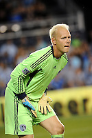 Jimmy Nielsen goalkeeper Sporting KC... Sporting Kansas City defeated Portland Timbers 3-1 at LIVESTRONG Sporting Park, Kansas City, Kansas.