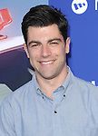 Max Greenfield attends The Twentieth Century Fox L.A. Premiere of Let's Be Cops held at The Cinerama Dome in Beverly Hills, California on August 07,2014                                                                               © 2014 Hollywood Press Awards