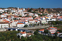 Portugal, Algarve, Silves: Castelo dos Mouros - Moorish Fortaleza and the Ponte Romana - Roman Bridge