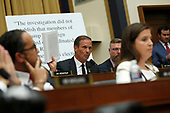 United States Representative Chris Stewart (Republican of Utah) questions former Trump-Russia special counsel Robert Mueller as he gives testimony before the United States House Permanent Select Committee on Intelligence on the results of his investigation on Capitol Hill in Washington, DC on Wednesday, July 24, 2019.<br /> Credit: Stefani Reynolds / CNP<br /> (RESTRICTION: NO New York or New Jersey Newspapers or newspapers within a 75 mile radius of New York City)