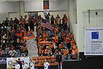 08.02.2020, GER, VBL, SVG Lueneburg vs Berlin Recycling Volleys, im Bild Feature die Berliner Fankurve / Foto © nordphoto/ Witke