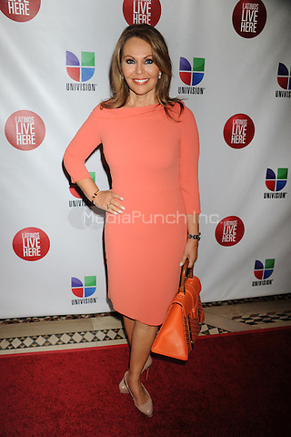 NEW YORK, NY - MAY 15: Maria Elena Salinas attends the Univision Upfront 2012 reception at Cipriani 42nd Street on May 15, 2012 in New York City.. Credit: Dennis Van Tine/MediaPunch