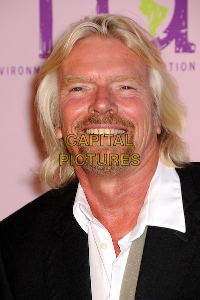 SIR RICHARD BRANSON.2009 Environmental Media Awards held at Paramount Studios, Los Angeles, California, USA..October 25th, 2009.headshot portrait white black goatee facial hair EMA EMA's EMAS.CAP/ADM/BP.©Byron Purvis/AdMedia/Capital Pictures.