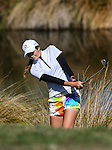 Kirsty Hodgkins. NZ Amateur Stroke Play Championships, Round Four. Shirley Golf Club, Christchurch, New Zealand, Sunday 27 March 2016. Photo: Simon Watts / BWmedia for NZ Golf<br /> All images &copy; NZ Golf and BWMedia.co.nz