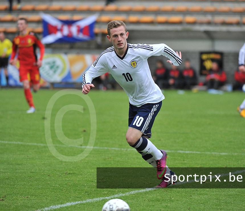 Scotland U19 - Belgium U19 : John Herron.foto DAVID CATRY / Nikonpro.be