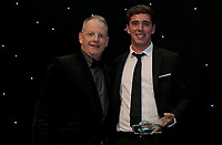 Dan lawrence receives the young player of the year award during the Essex CCC 2017 Awards Evening at The Cloudfm County Ground on 5th October 2017