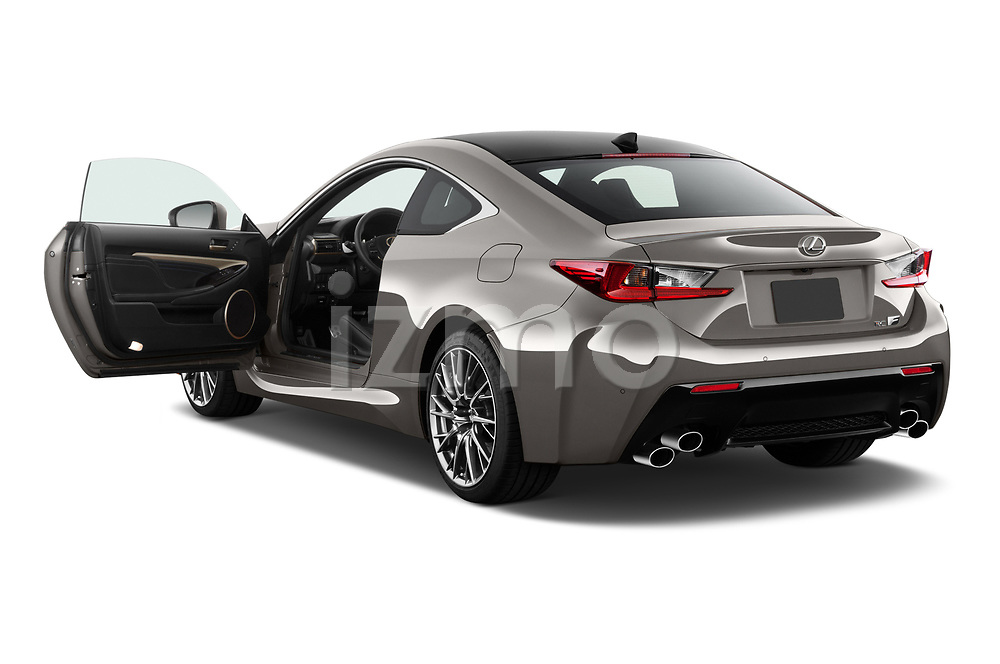Car images close up view of a 2018 Lexus RC F 3 Door Coupe doors