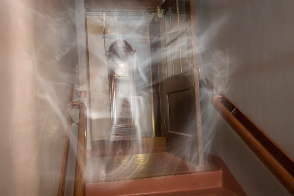 Ghost in mist