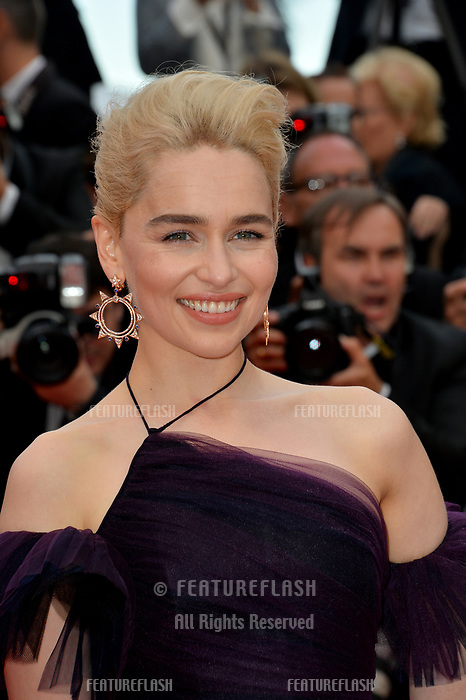 Emilia Clarke at the gala screening for &quot;Solo: A Star Wars Story&quot; at the 71st Festival de Cannes, Cannes, France 15 May 2018<br /> Picture: Paul Smith/Featureflash/SilverHub 0208 004 5359 sales@silverhubmedia.com