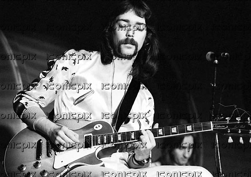 Genesis - guitarist Steve Hackett performing live at the Rainbow Theatre in Finsbury Park London UK - 19 Oct 1973.  Photo credit: Ian Dickson/IconicPix