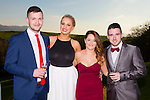 Enjoying the Austin Stacks social in Ballyroe on Sunday night were l-r Shane Carroll, Carrie Lonnergan, Chloe O'Halloran and Pa Fitzgibbon
