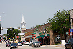 Small Town USA, Village Centre Appleton Avenue, Menomonee Falls Wisconsin