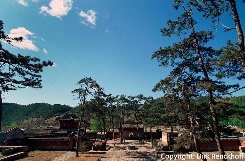 China, Shu Xiang Si-Tempel in Chengde,Unesco-Weltkulturerbe