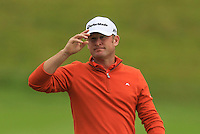 Jamie Donaldson (WAL) finishes on the 18th during Round 2 of the 100th Open de France, played at Le Golf National, Guyancourt, Paris, France. 01/07/2016. <br /> Picture: Thos Caffrey | Golffile<br /> <br /> All photos usage must carry mandatory copyright credit   (&copy; Golffile | Thos Caffrey)