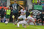 20.07.2018, Zillertalarena, Zell am Ziller, AUT, FSP, 1.FBL, SV Werder Bremen (GER) vs 1. FC Koeln (GER), im Bild<br /> <br /> Salih Özcan / Oezcan (Koeln #20) <br /> Johannes Eggestein (Werder Bremen #24)<br /> Foto © nordphoto / Kokenge