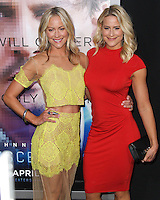 "WESTWOOD, LOS ANGELES, CA, USA - APRIL 10: Cynthia Daniel, Brittany Daniel at the Los Angeles Premiere Of Warner Bros. Pictures And Alcon Entertainment's ""Transcendence"" held at Regency Village Theatre on April 10, 2014 in Westwood, Los Angeles, California, United States. (Photo by Xavier Collin/Celebrity Monitor)"