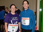 Brigit Curtis and Marie Finnegan who ran the Ferdia Challange 5K run in Ardee. Photo:Colin Bell/pressphotos.ie