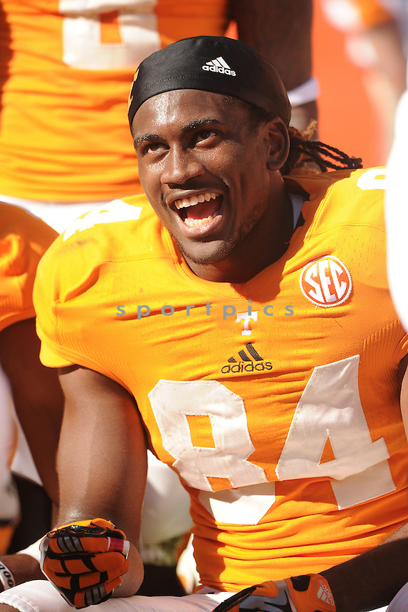 Tennessee Volunteers Cordarrelle Patterson (84) during a game against Missouri on November 10, 2012 at Neyland Stadium in Knoxville, TN. Missouri beat Tennessee 51-48.