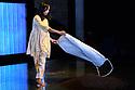 "Bush Theatre presents ""AN ADVENTURE"", by Vinay Patel. Directed by Madani Younis, with design by Rosanna Vize. The cast is: Nila Aalia, Martins Imhangbe, Aysha Kala, Selva Rasalingam, Shubham Saraf and Anjana Vasan. Picture shows: Anjana Vasan."