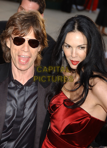 L'Wren Scott, partner of Mick Jagger &amp; former model, is found dead in her New York home on in an apparent suicide on March 17th, 2014.<br /> 05 March 2006 - West Hollywood, California - Mick Jagger<br /> . Vanity Fair Oscar Party held at Morton's. <br /> CAP/ADM/GB<br /> &copy;Gary Boas/AdMedia/Capital Pictures