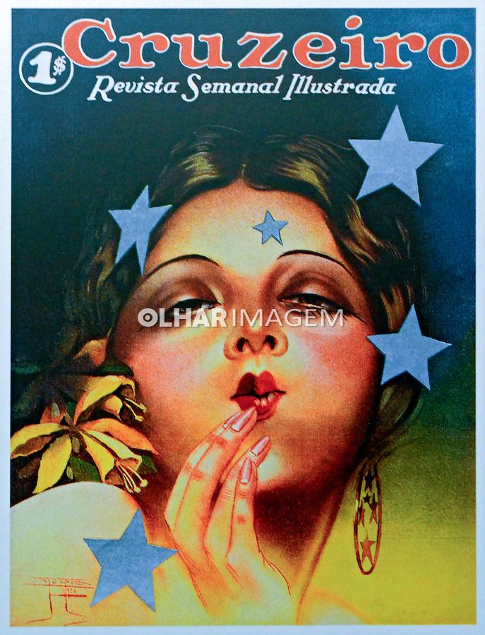 Primeira capa da Revista Cruzeiro. Foto de Manuel Lourenço.