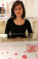 NAPOLI 21/03/2013 MUSEO PLART CERIMONIA DI PREMIAZIONE DELLA .VIII EDIZIONE DEL LUCKY STRIKE TALENTED DESIGNER AWARD ORGANIZZATO DALLA RAYMOND LOEWY  FOUNDATION.NELLA FOTO Ilaria Bosso