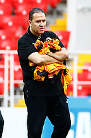 Moscow, Russia - June 22 : Nabil Maaloul head coach of Tunisia during a training session of the National Soccer Team of Belgium prior to the FIFA 2018 World Cup Russia group G phase match between Belgium and Tunisia at the Spartak Stadium on June 22, 2018 in Moscow, Russia,  <br /> Football FIFA World Cup Russia  2018 <br /> Foto Panoramic/Insidefoto