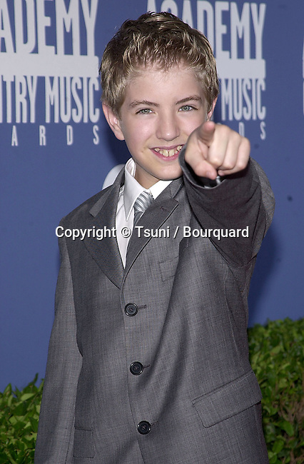Billy Gilman arrives at the 36th Academy of Country Music Awards held at the Universal Amphitheater in Los Angeles, CA, Wednesday, May 9, 2001.  (photo by © Tsuni)          -            GilmanBilly10.jpg