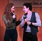 Micaela Diamond and Jarrod Spector during 'The Cher Show' Original Broadway Cast Recording performance and CD signing at Barnes & Noble Upper East Side on May 14, 2019 in New York City.