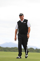 Darren Clarke (NIR) after sinking his putt on the 10th green during Day 1 Thursday of The Irish Open presented by Discover Ireland at Killarney Golf & Fishing Club on 28th July 2011 (Photo Jenny Matthews/www.golffile.ie)