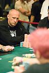 Lee Markholt stares down Gavin Griffen.