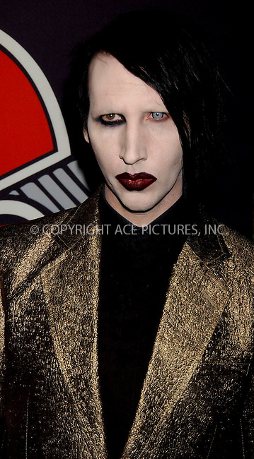 WWW.ACEPIXS.COM . . . . . ....NEW YORK, MAY 4, 2006....Marilyn Manson at the Rolling Stone Magazine Celebrates their 1,000th Issue at the Hammestein Ballroom.......Please byline: KRISTIN CALLAHAN - ACEPIXS.COM.. . . . . . ..Ace Pictures, Inc:  ..(212) 243-8787 or (646) 679 0430..e-mail: picturedesk@acepixs.com..web: http://www.acepixs.com