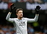 Wayne Hennessey of Crystal Palace during the premier league match at the Etihad Stadium, Manchester. Picture date 22nd September 2017. Picture credit should read: Simon Bellis/Sportimage