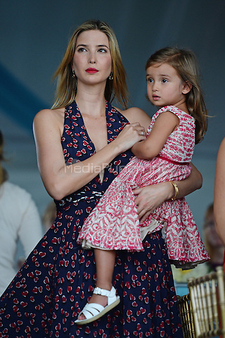 PALM BEACH, FL - JANUARY 05: Ivanka Trump and Arabella Rose Kushner attend the 2014 Trump Invitational Grand Prix at Club Mar-a-Lago on January 5, 2014 in Palm Beach, Florida. Credit: mpi04/MediaPunch