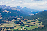 view of Wairau valley near St. Arnaud, New Zealand