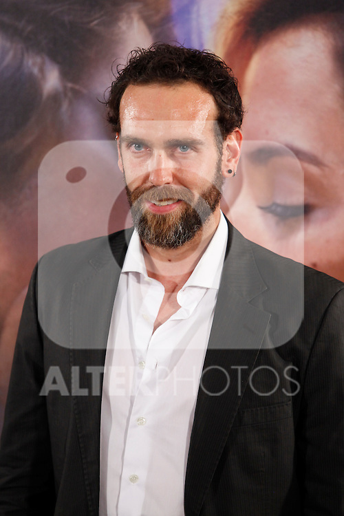 Ciro Miro poses during `Por un punado de besos´ premiere film photocall at Callao cinemas in Madrid, Spain. May 14, 2014. (ALTERPHOTOS/Victor Blanco)