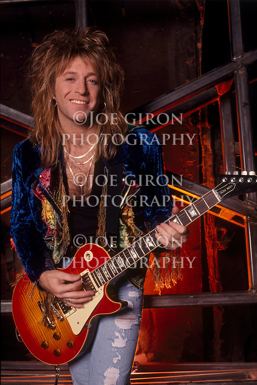 Candian singer-songwriter, Aldo Nova, poses for a portrait session