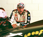 FILE PHOTO  lv99030507_03Earnhrt: 99 March 05 : LAS VEGAS NEVADA USA :Las Vegas Motor Speedway at opening day of qualifying for the 1999 NASCAR  Dale Earnhardt<br />after coming in from his first practice session. Dale did not make the field yet, but will have one more chance to make the field.<br />ldb/Larry Burton Photo 702.456.9190