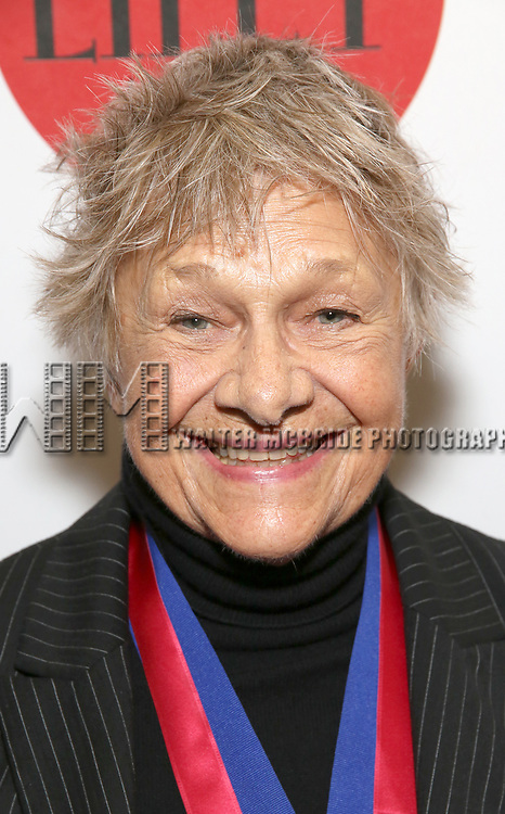 Estelle Parsons attends the The Lilly Awards  at Playwrights Horizons on May 22, 2017 in New York City.